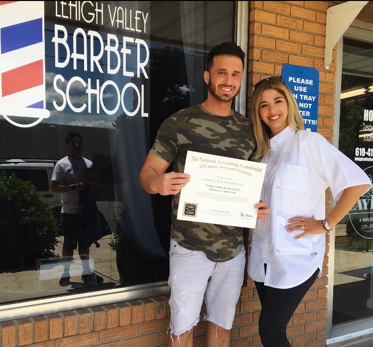 Owners of Lehigh Valley Barber School